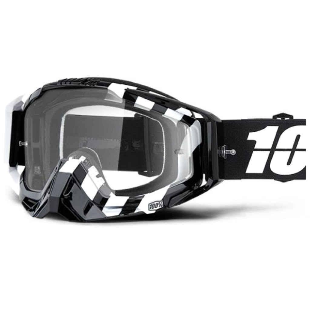 Maschera 100% Racecraft Alta Clear Lens