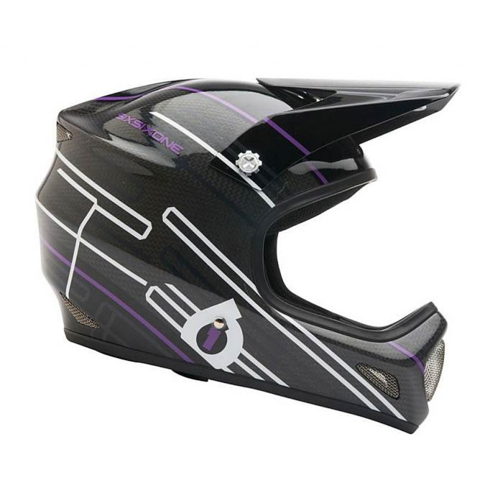 Casco 661 Evo Carbon Lines Purple