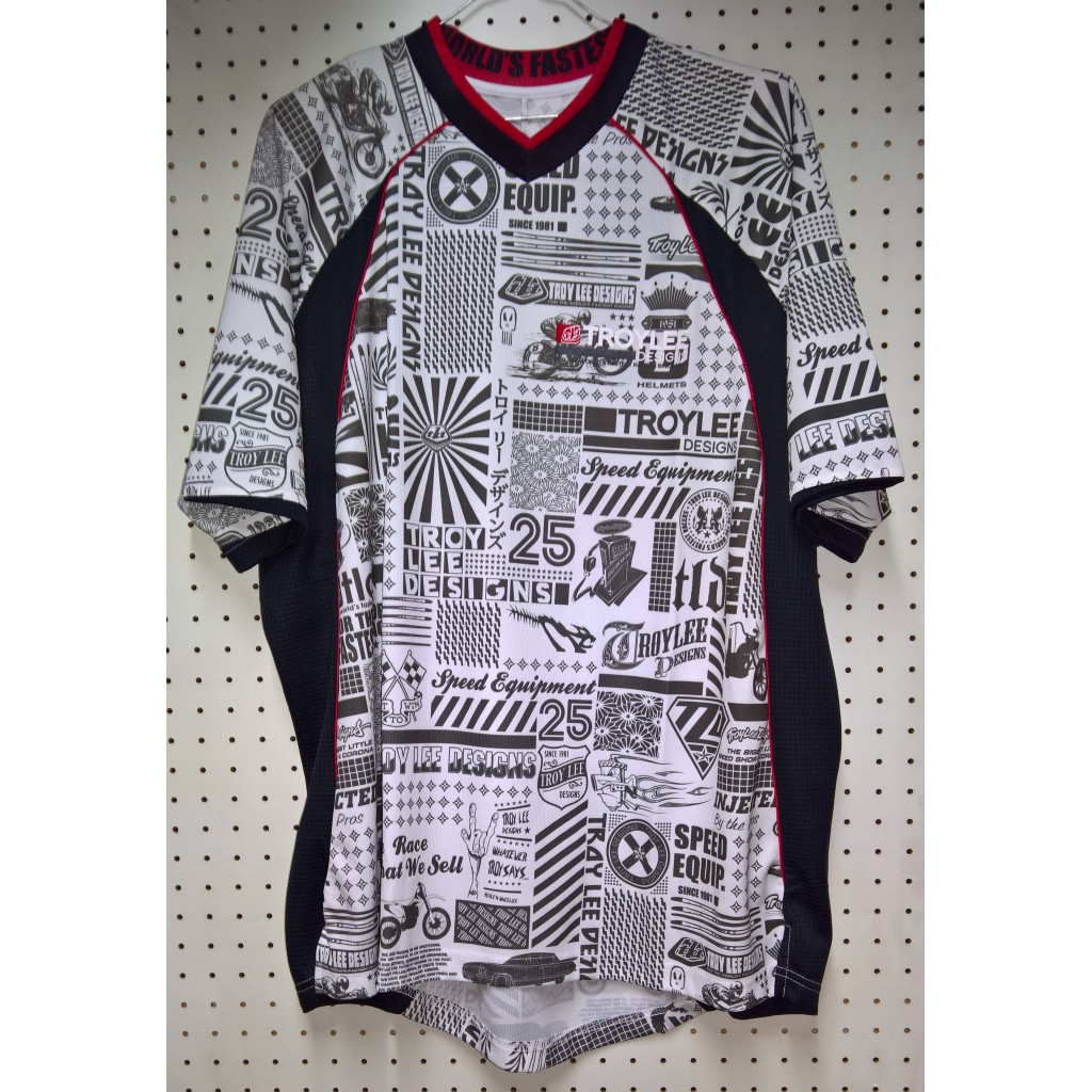 Jersey TLD History S/S Jersey