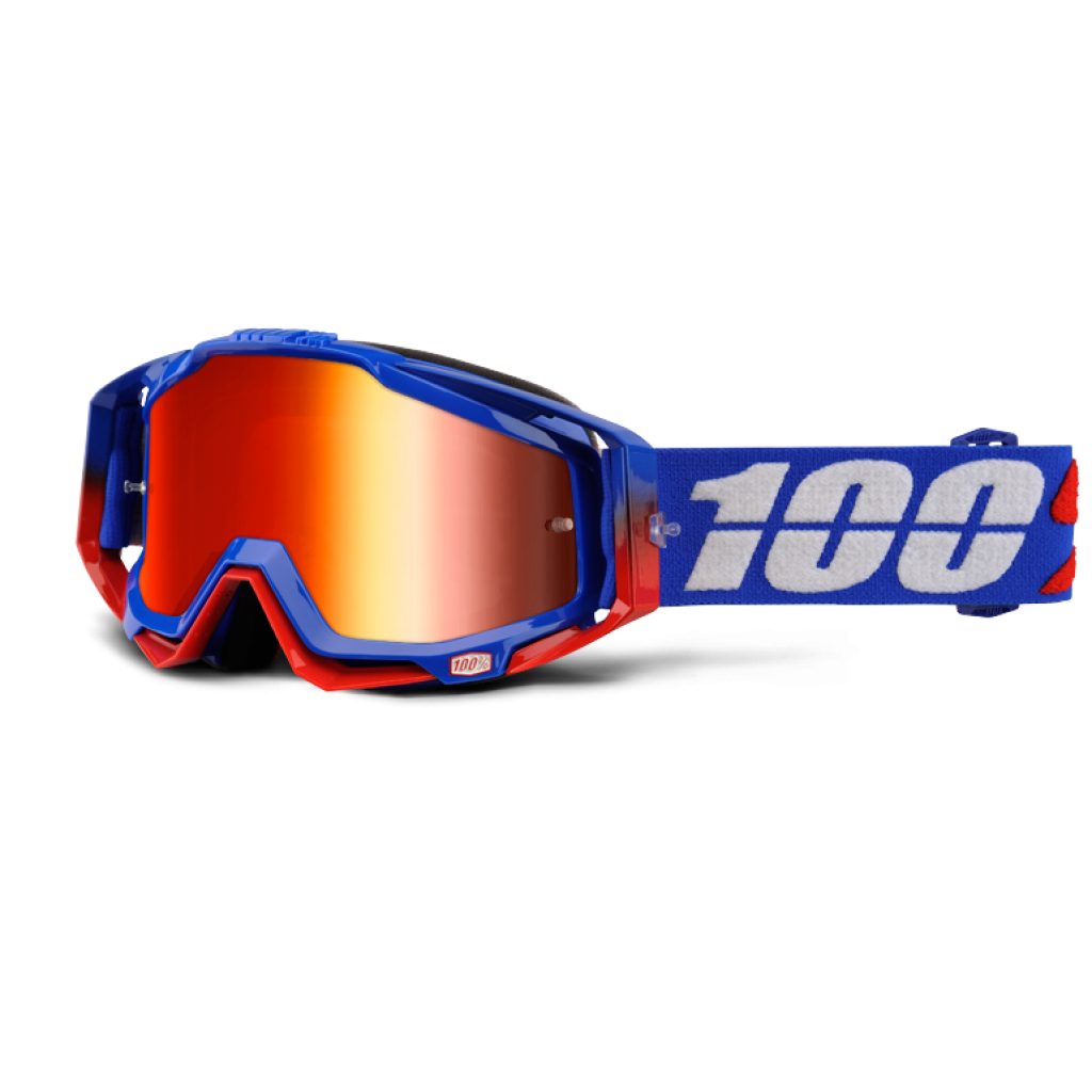 100% Racecraft Republic Mirror Red Lens